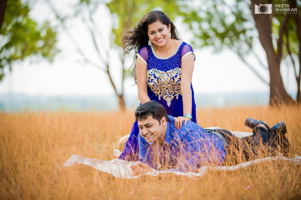 Shruthi And Sharath Pre Wedding Shoot