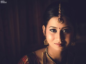 Neeta-Shankar-Photography-Beautiful-Bridal-Portrait-Low-Key-Trichy-South-Indian-Bride-Bridal-Makeup-Traditional