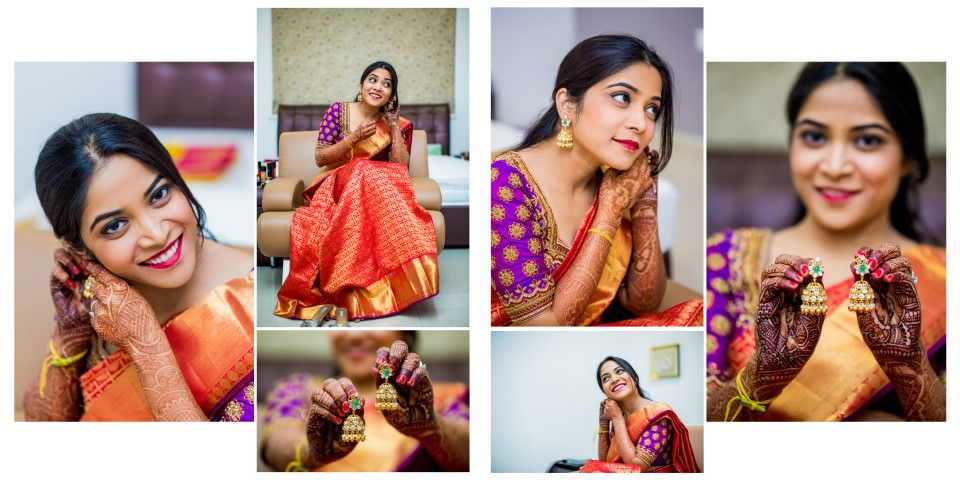 Getting ready pictures Neeta Shankar Photography